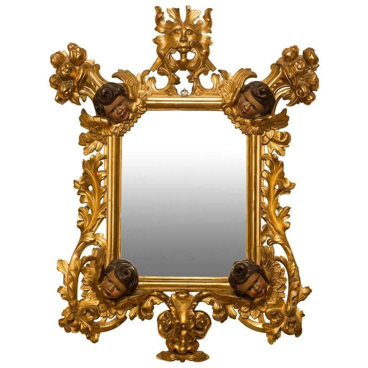 Inspiration about 604 Best Mirror..mirror On The Wall Images On Pinterest Regarding Rococo Wall Mirrors (#8 of 20)