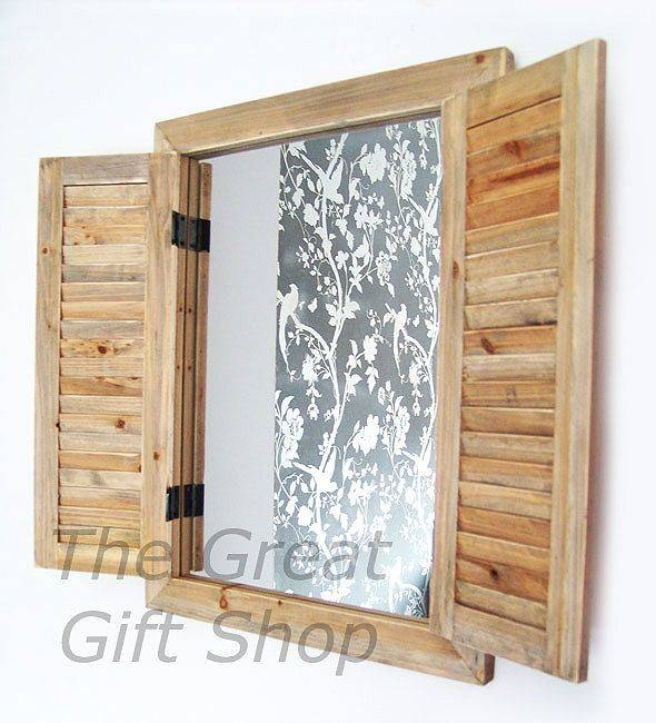 Inspiration about 61 Best Old Shutters Images On Pinterest | Old Shutters, Shutter Within Wall Mirrors With Shutters (#15 of 20)