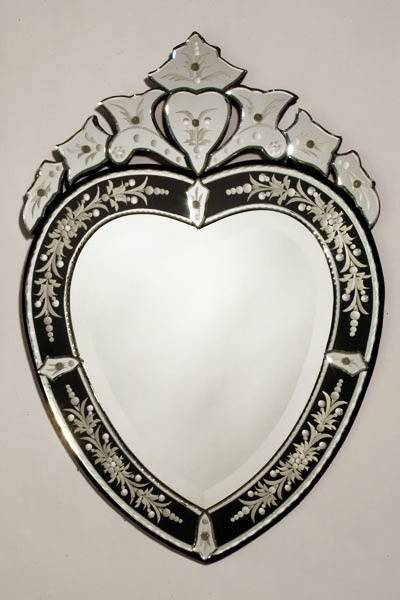 61 Best Venetian Mirrors Images On Pinterest | Venetian Mirrors With Venetian Heart Mirrors (#7 of 20)