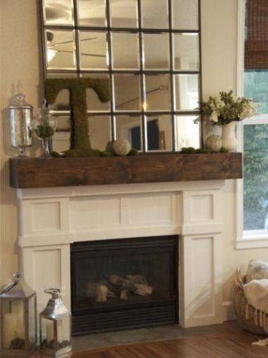 Inspiration about 62 Best Mantels, Mirrors And Clocks. Images On Pinterest Throughout Large Mantel Mirrors (#24 of 30)