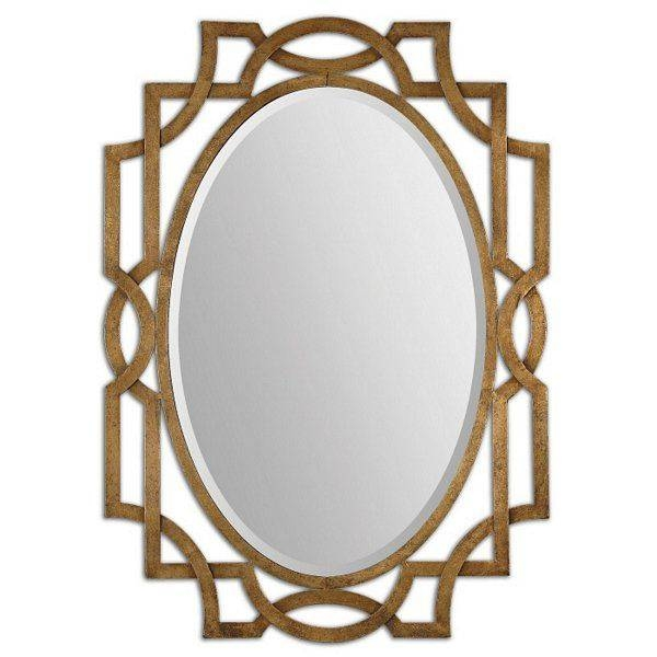 Inspiration about 62 Best Mirrors Images On Pinterest | Mirror Mirror, Wall Mirrors For Modern Gold Mirrors (#11 of 20)