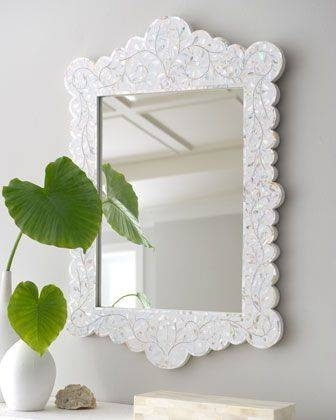 Inspiration about 66 Best Mirror Mirror On The Wall Images On Pinterest | Mirror With Mother Of Pearl Wall Mirrors (#3 of 30)