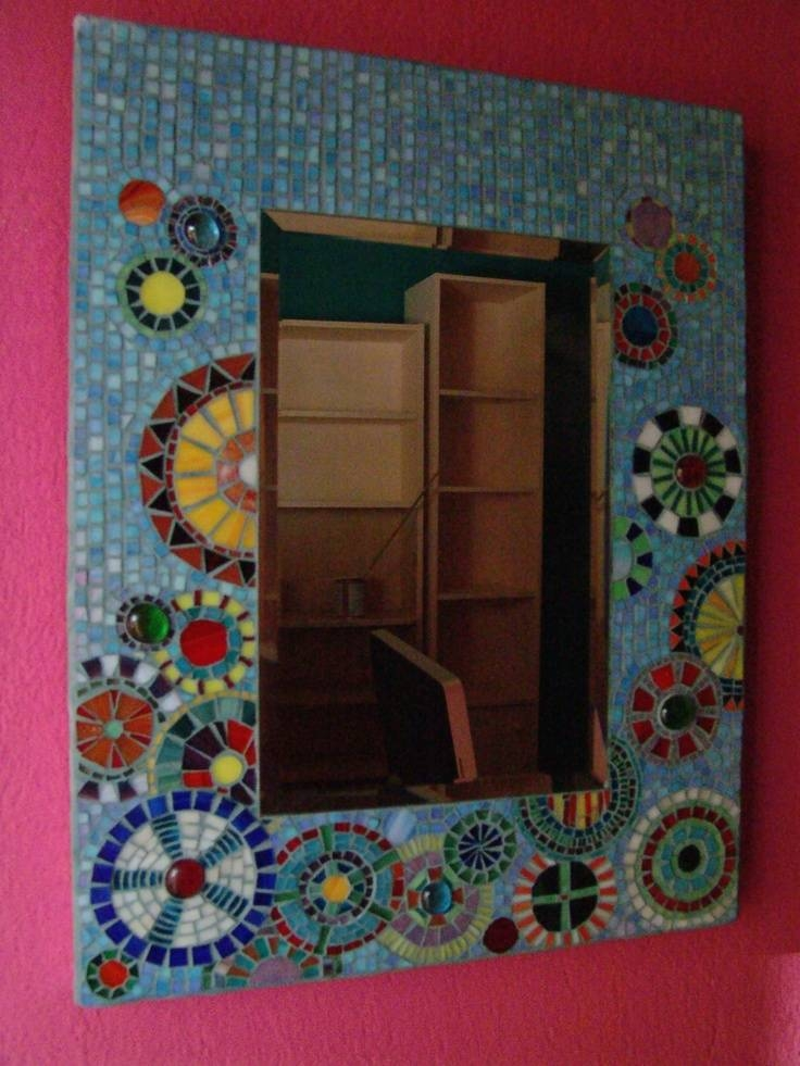 Inspiration about 668 Best Mosaic Frames & Mirrors Images On Pinterest | Mosaic Art In Mosaic Mirrors (#19 of 20)