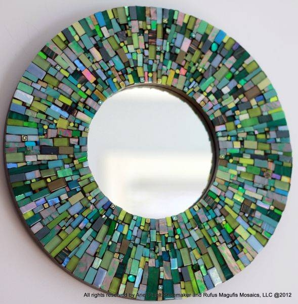 Inspiration about 668 Best Mosaic Frames & Mirrors Images On Pinterest | Mosaic Art Regarding Mosaic Mirrors (#10 of 20)