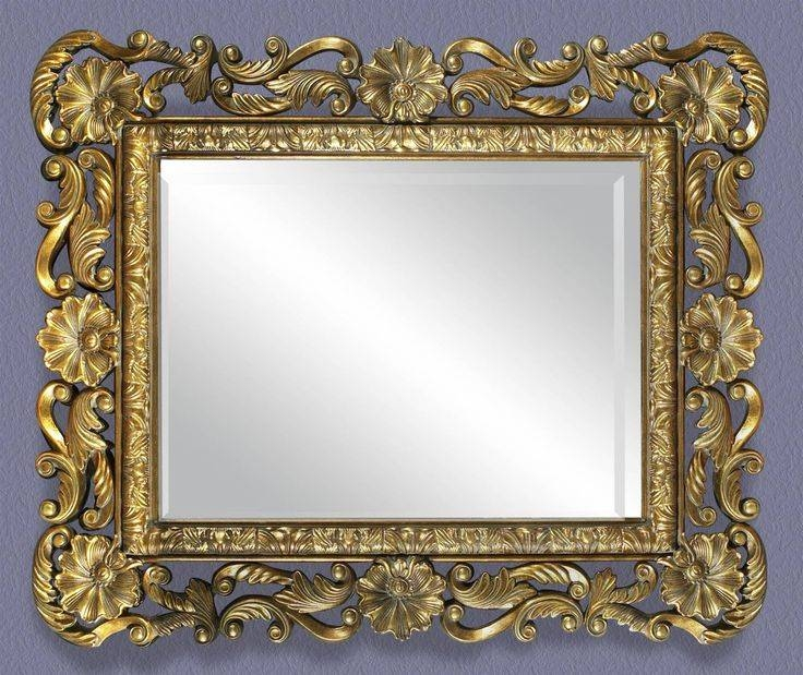 Inspiration about 67 Best Old Picture Frames Images On Pinterest | Antique Picture With Regard To Buy Vintage Mirrors (#18 of 20)