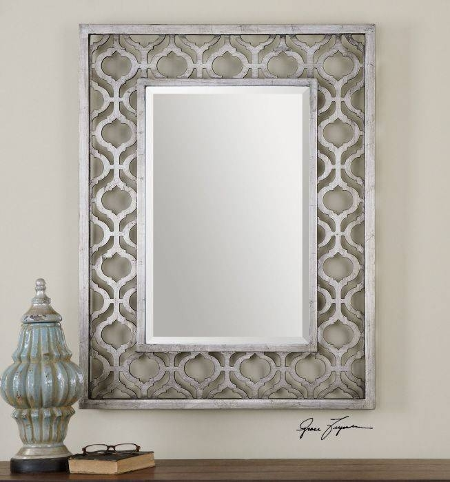 68 Best 40Inch Mirrors Images On Pinterest | Mirror Mirror With Silver Rectangular Bathroom Mirrors (#5 of 20)