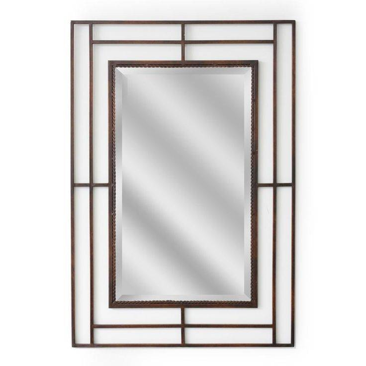 68 Best Framed Mirrors Images On Pinterest | Framed Mirrors In Iron Framed Mirrors (#1 of 20)
