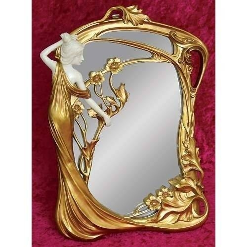 Inspiration about 68 Best Looking Glass – Art Nouveau Images On Pinterest | Mirror Within Art Nouveau Mirrors (#18 of 20)