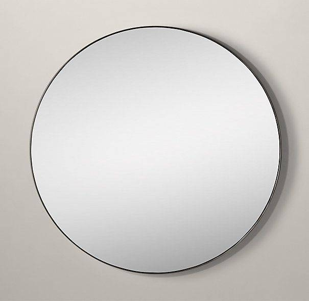 Inspiration about 68 Best Mirrors Images On Pinterest | Mirror Mirror, Bathroom With Regard To Antique Round Mirrors (#20 of 20)