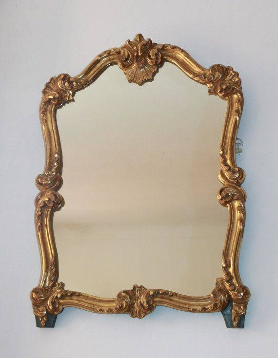 Inspiration about 684 Best Vintage Mirrors Images On Pinterest | Vintage Mirrors For Old Fashioned Mirrors (#20 of 20)