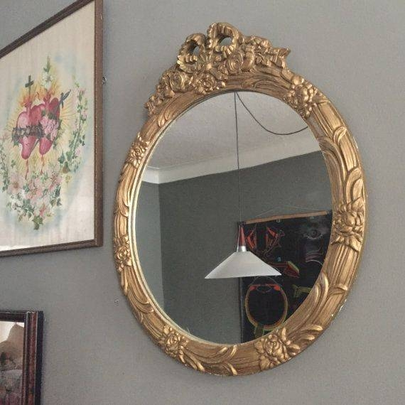 Inspiration about 684 Best Vintage Mirrors Images On Pinterest | Vintage Mirrors Inside Antique Round Mirrors (#17 of 20)