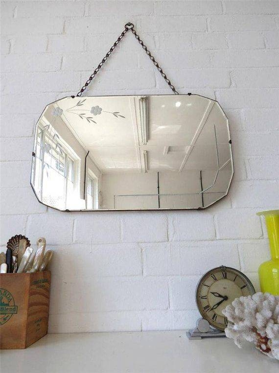 Inspiration about 684 Best Vintage Mirrors Images On Pinterest | Vintage Mirrors Inside Large Bevelled Edge Mirrors (#16 of 30)