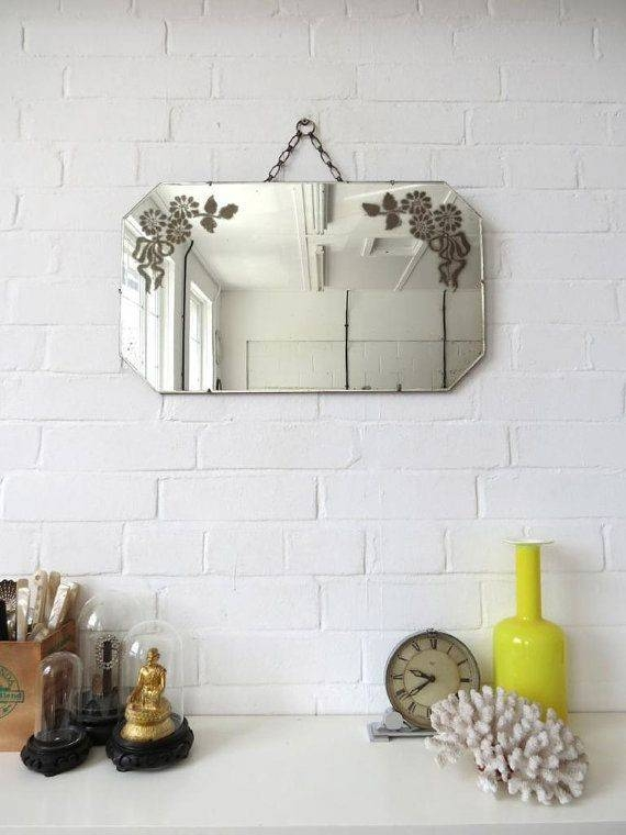 Inspiration about 684 Best Vintage Mirrors Images On Pinterest | Vintage Mirrors Inside Old Fashioned Wall Mirrors (#20 of 30)