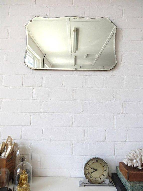 684 Best Vintage Mirrors Images On Pinterest | Vintage Mirrors Inside Vintage Bevelled Edge Mirrors (#10 of 30)