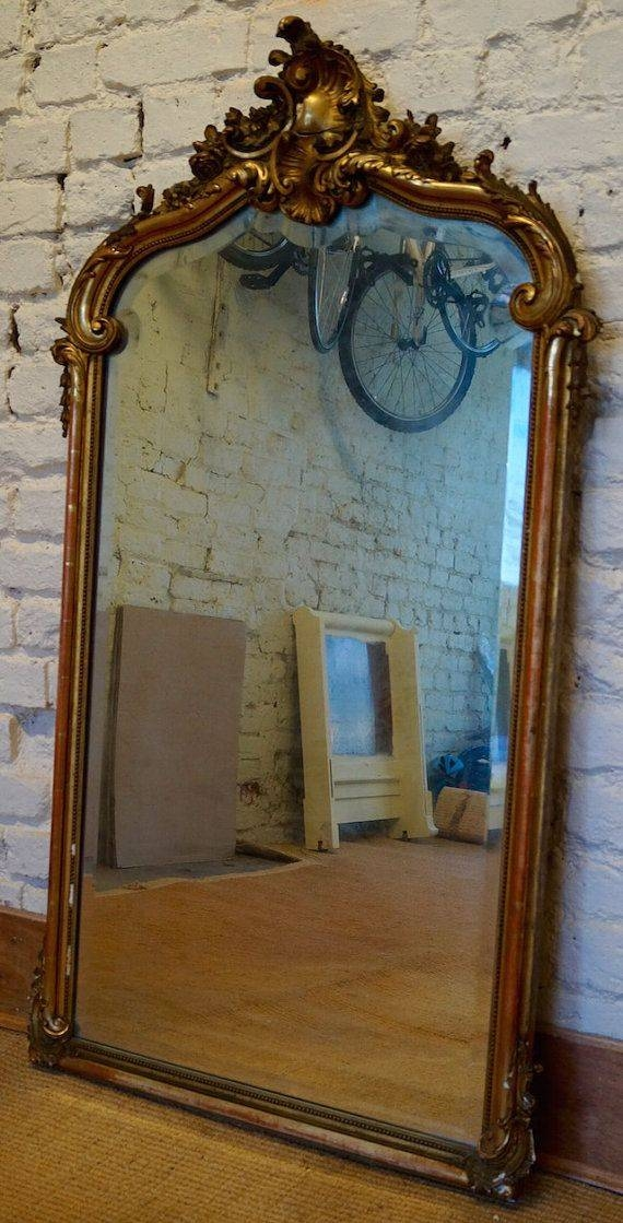 684 Best Vintage Mirrors Images On Pinterest | Vintage Mirrors Intended For Gilt Framed Mirrors (View 7 of 20)