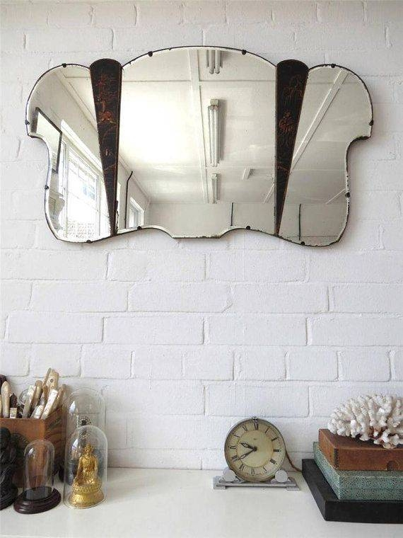 Inspiration about 684 Best Vintage Mirrors Images On Pinterest | Vintage Mirrors Throughout Large Bevelled Edge Mirrors (#11 of 30)