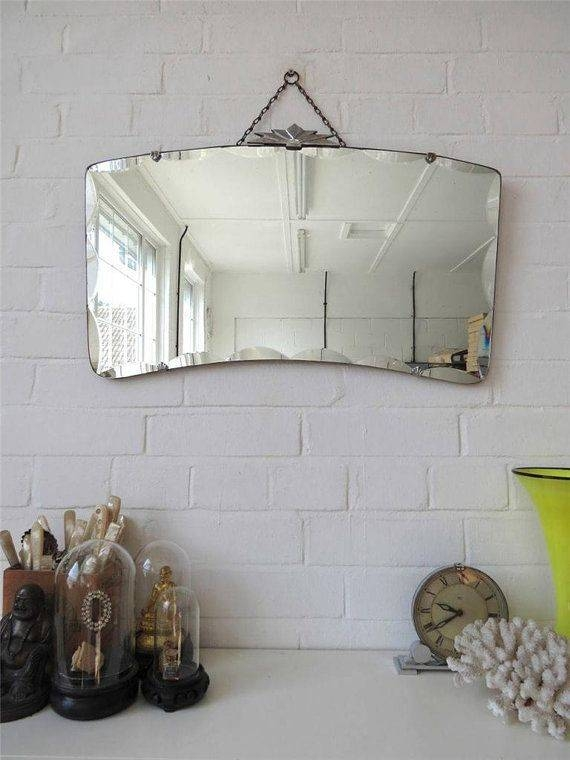 Inspiration about 684 Best Vintage Mirrors Images On Pinterest | Vintage Mirrors Within Large Bevelled Edge Mirrors (#13 of 30)