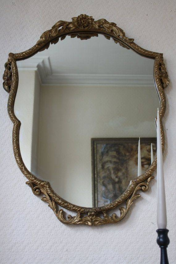 684 Best Vintage Mirrors Images On Pinterest | Vintage Mirrors Within Ornate Vintage Mirrors (#16 of 30)
