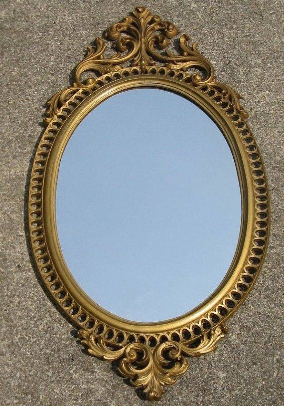 684 Best Vintage Mirrors Images On Pinterest | Vintage Mirrors Within Ornate Vintage Mirrors (#15 of 30)