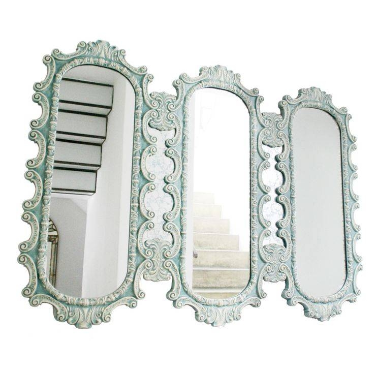Popular Photo of Triple Wall Mirrors