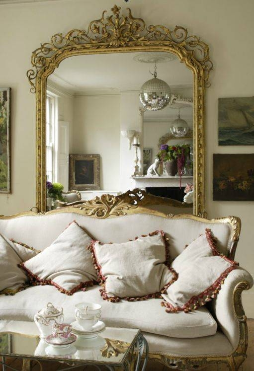 Inspiration about 69 Best Mirrors French Country & Traditional Images On Pinterest Regarding French Gold Mirrors (#14 of 20)
