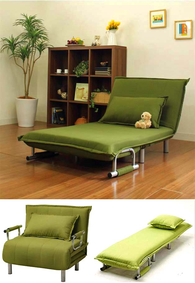 7 Brillant Folding Sofas Chaise Lounges Beds Godownsize Within Sofa Lounger Beds (#1 of 15)
