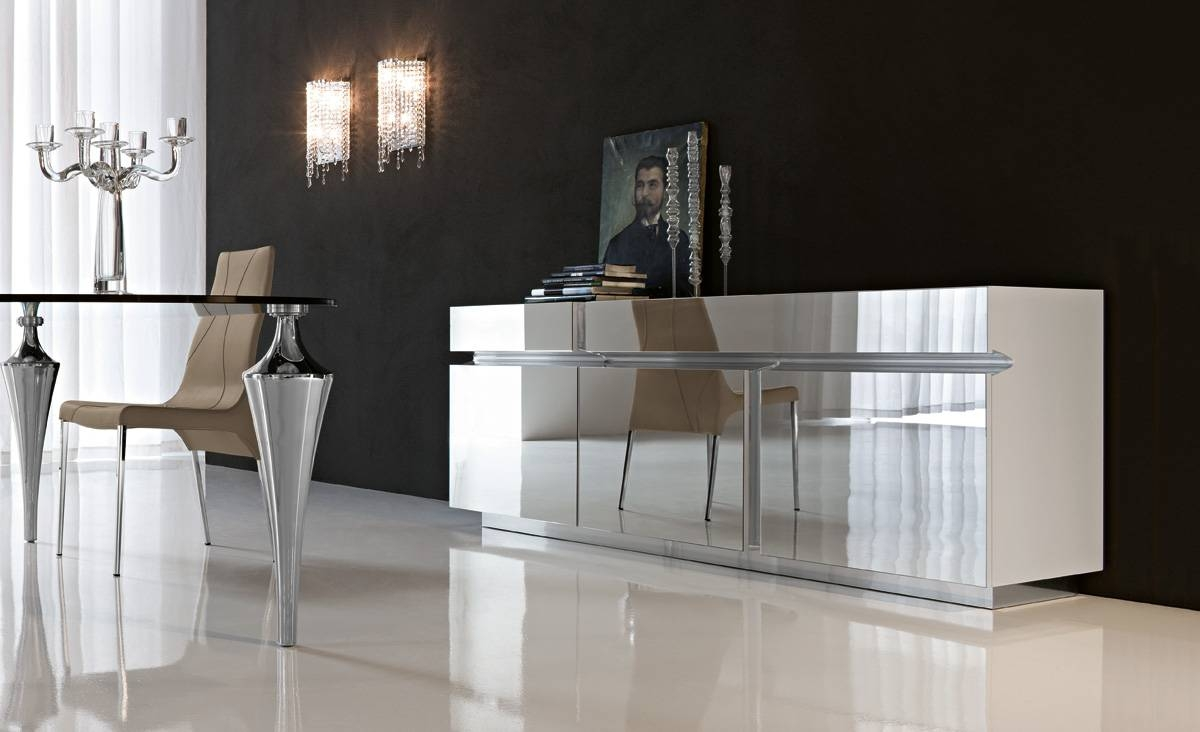 7 Different Ways To Design With Mirrors – Cantoni With Sideboard Mirror (#1 of 20)