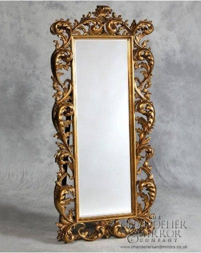 70 Best Mirrors Images On Pinterest | Wall Mirrors, Arches And For Gold Full Length Mirrors (#2 of 30)
