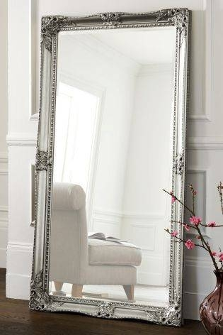 70 Best Silver Gilded Mirror Images On Pinterest | Mirror Mirror Regarding Pewter Ornate Mirrors (View 7 of 30)