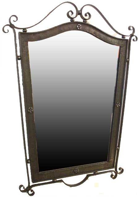 70 Best Wrought Iron Mirrors Images On Pinterest | Wrought Iron Inside Wrought Iron Standing Mirrors (#1 of 20)