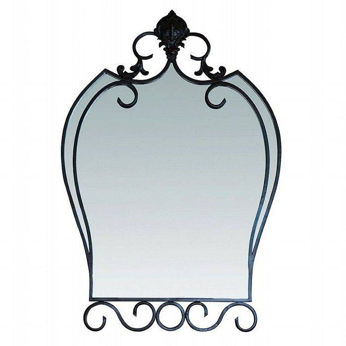 70 Best Wrought Iron Mirrors Images On Pinterest | Wrought Iron Intended For Wrought Iron Bathroom Mirrors (#8 of 30)