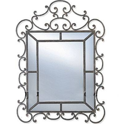 70 Best Wrought Iron Mirrors Images On Pinterest | Wrought Iron With Regard To Iron Framed Mirrors (#3 of 20)