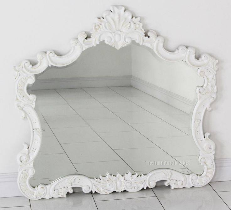 71 Best Mirror Images On Pinterest | Mirror Mirror, Mirrors And In Large White French Mirrors (#10 of 30)