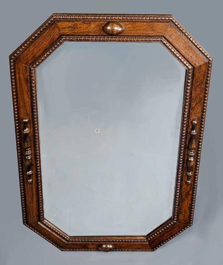 Popular Photo of Antique Oak Mirrors