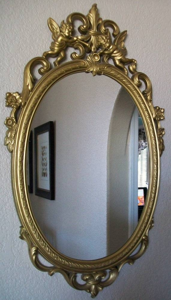 77 Best My Fav Gold Ornate Mirrors Images On Pinterest | Mirror For Ornate Vintage Mirrors (#18 of 30)
