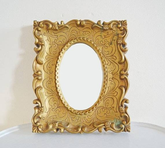 77 Best My Fav Gold Ornate Mirrors Images On Pinterest | Mirror Intended For Vintage Gold Mirrors (#12 of 30)