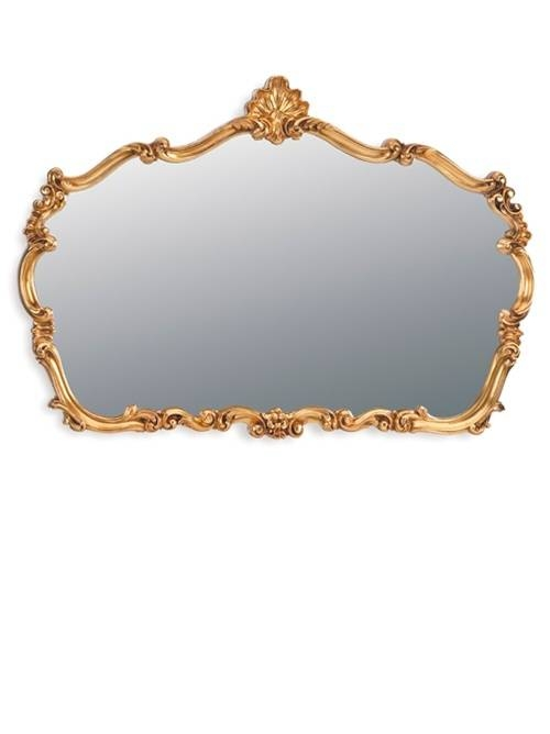 77 Best My Fav Gold Ornate Mirrors Images On Pinterest | Mirror Regarding Gold Mantle Mirrors (#7 of 30)