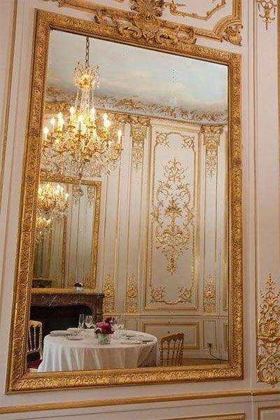 77 Best My Fav Gold Ornate Mirrors Images On Pinterest | Mirror Throughout Large Gold Ornate Mirrors (View 10 of 30)
