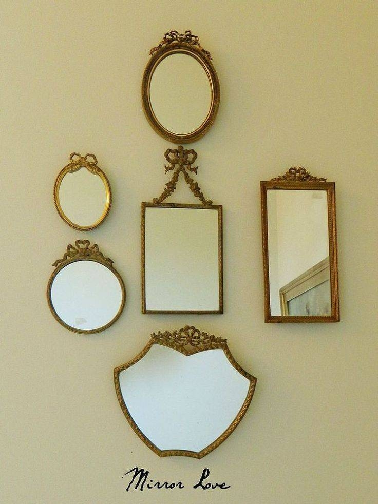 77 Best Vintage Mirrors Images On Pinterest   Mirror Mirror Intended For Buy Vintage Mirrors (View 8 of 20)