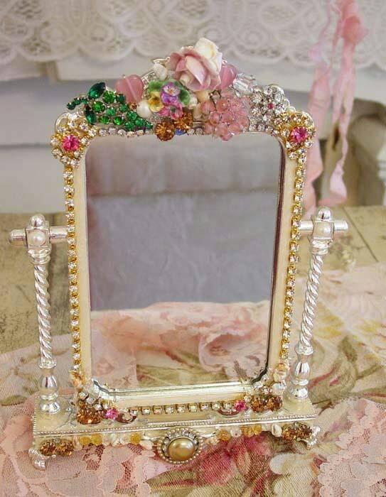 78 Best Embellished Mirrors Images On Pinterest | Mirror Mirror For Embellished Mirrors (#15 of 30)