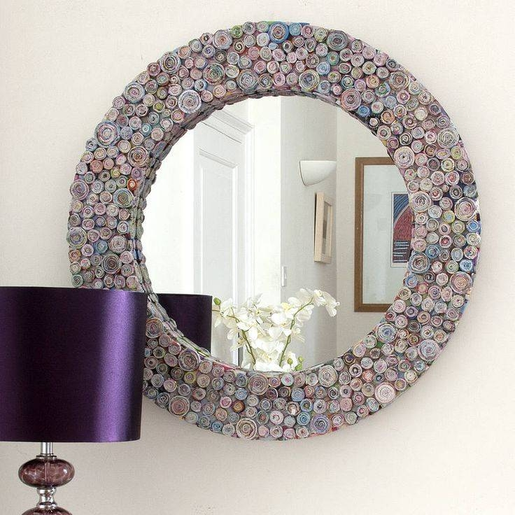 8 Best Bathroom Mirrors And Cabinets Images On Pinterest Within Funky Round  Mirrors (#13