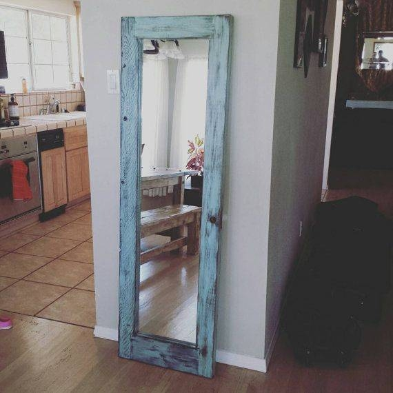 8 Best Mirror Images On Pinterest | Full Length Mirrors, Floor Within Shabby Chic Full Length Mirrors (#7 of 20)