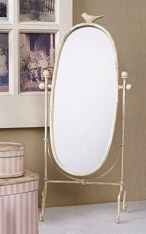 8 Best Mirrors Images On Pinterest | Shabby Cottage, Cottage Chic With Cream Shabby Chic Mirrors (#9 of 30)
