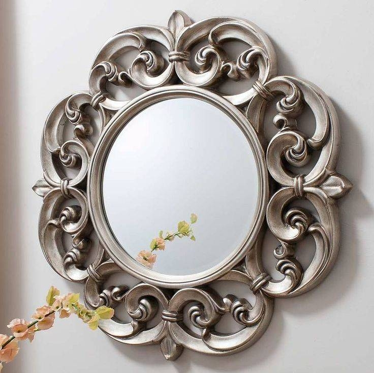 80 Best Mosaic – Mirror Images On Pinterest | Home, Mirror Mirror Inside Pewter Ornate Mirrors (View 8 of 30)