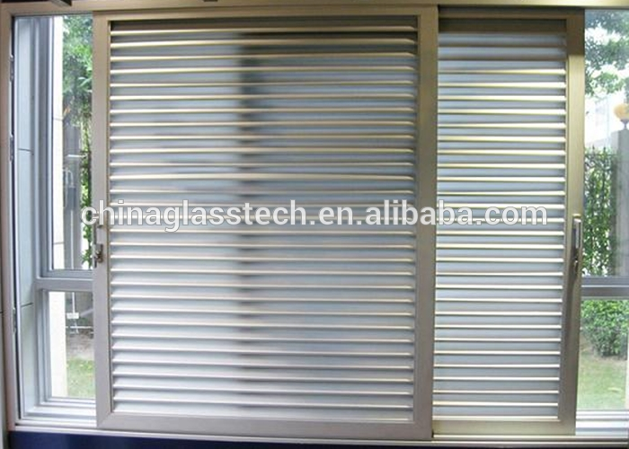80 Series Pvc Profile Environmentally Friendly Window Shutter Intended For Window Shutter Mirrors (#2 of 30)