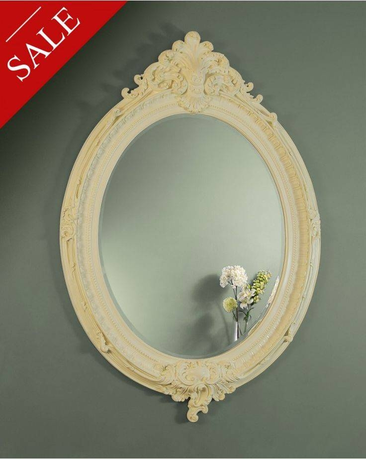 800 Best Mirror Oval Images On Pinterest | Oval Mirror, Wall Within Oval Cream Mirrors (#6 of 30)