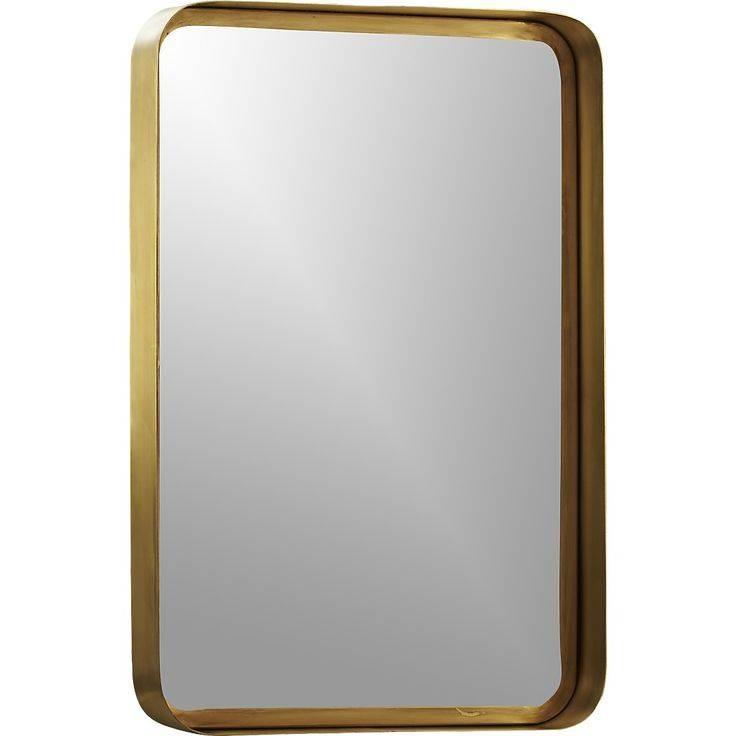 81 Best Mirror Images On Pinterest | Bathroom Ideas, Round Mirrors Regarding Brass Mirrors (#2 of 15)