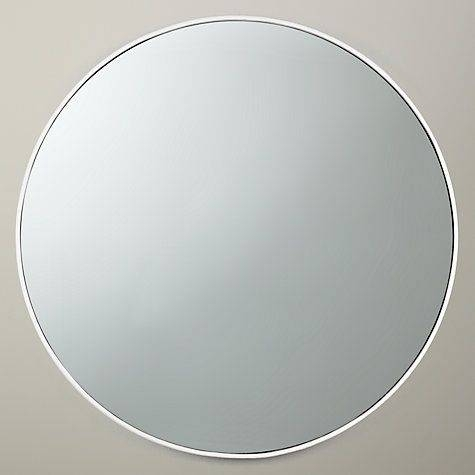 Popular Photo of White Metal Mirrors