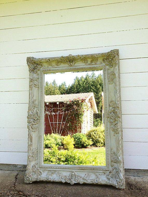 81 Best Mirror Mirror Images On Pinterest | Mirror Mirror, Mirror Inside Shabby Chic Large Wall Mirrors (#4 of 20)