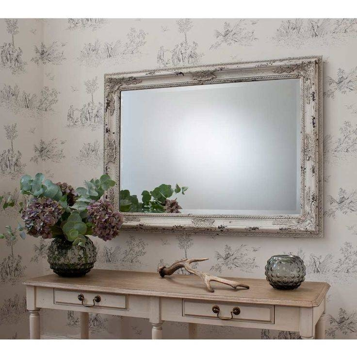 813 Best Decorative Accessories Images On Pinterest | Decorative Throughout Cream Shabby Chic Mirrors (#10 of 30)
